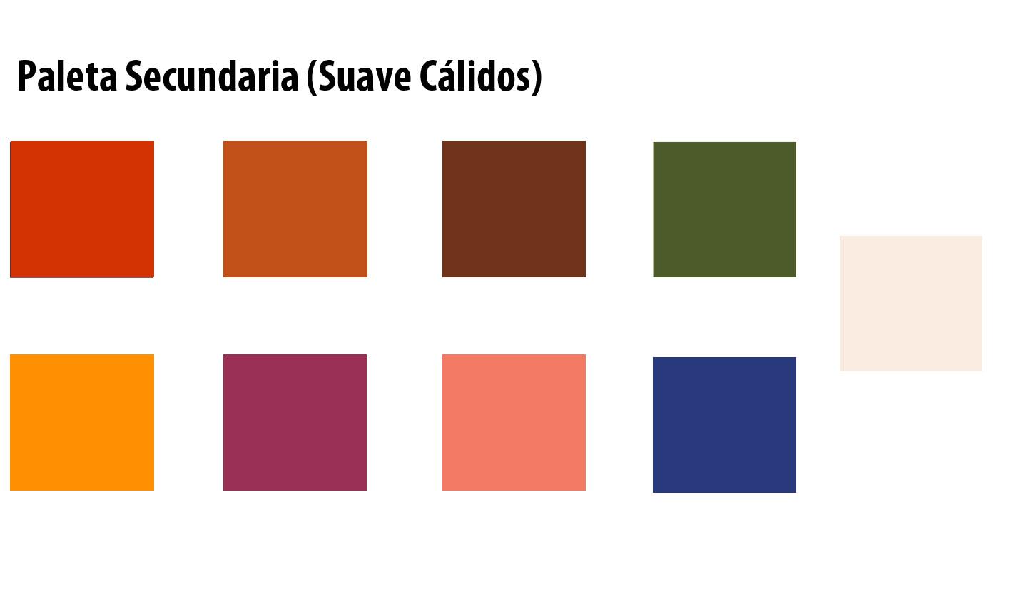 Que color me favorece parte 2 c lidos suave la moda mas deseada - Paleta cromatica de colores ...